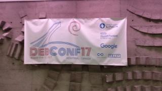 DebConf17 banner